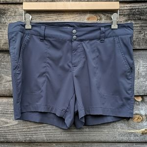 Columbia Dark Gray Omni-Shield Hiking Shorts